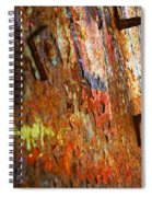 Rust Background Spiral Notebook