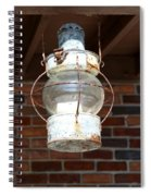 Rusty Lantern Spiral Notebook