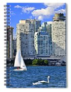 Sailing In Toronto Harbor Spiral Notebook