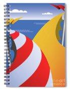 Sails Spiral Notebook
