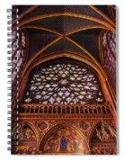 Saint Chapelle Spiral Notebook
