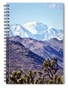 San Gorgonio Mountains Spiral Notebook