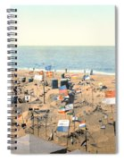 Sand Castles, C1895 Spiral Notebook