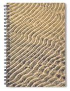 Sand Ripples In Shallow Water Spiral Notebook