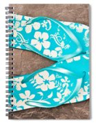Sandals Spiral Notebook