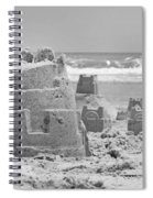 Sandcastle  Spiral Notebook