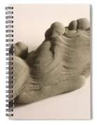 Sandstone Conglomerate Spiral Notebook