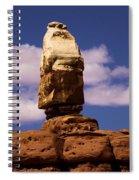 Santa Clause At Canyonlands National Park Spiral Notebook