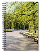 Saxon Garden In Warsaw Spiral Notebook