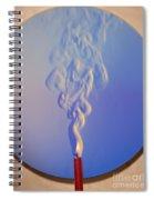 Schlieren Image Of A Candle Spiral Notebook
