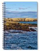 Schoodic Point Acadia National Park Spiral Notebook