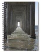 Scripps Pier La Jolla California 5 Spiral Notebook