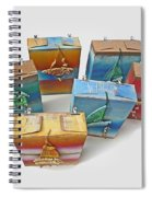 Sea Boxes Spiral Notebook