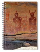 Sego Canyon Indian Petroglyphs And Pictographs Spiral Notebook