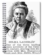 Selma Lagerlof (1858-1940) Spiral Notebook