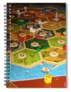 Settlers Of Catan Spiral Notebook