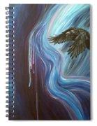 Shadow Dance Spiral Notebook