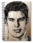 Sidney Crosby In 2007 Spiral Notebook