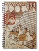 Siege Of Tenochtitlan 1521 Spiral Notebook