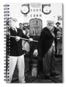 Silent Film: Amusement Park Spiral Notebook