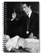 Silent Film Still: Doctor Spiral Notebook