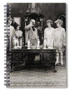 Silent Still: Showgirls Spiral Notebook