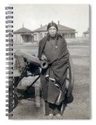 Sioux Warrior, 1891 Spiral Notebook