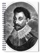 Sir Francis Drake, English Explorer Spiral Notebook