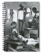Slaves In Union Camp Spiral Notebook