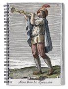 Slide Trumpet, 1723 Spiral Notebook