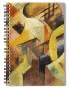 Small Composition I Spiral Notebook