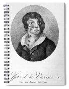 Smallpox Vaccination, 1807 Spiral Notebook