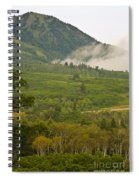 Snowbasin Utah Spiral Notebook