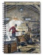 Soap Manufacture, C1870 Spiral Notebook