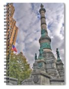 Soldiers And Sailors Monument In Lafayette Square Spiral Notebook