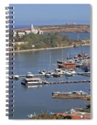 Sozopol Harbour Spiral Notebook