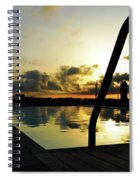 Spanish Sunrise Spiral Notebook