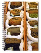 Spices On The Market Spiral Notebook