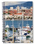 Split Cityscape Spiral Notebook