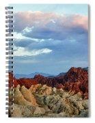 Split Fire Spiral Notebook