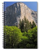 Spring Views Of El Capitan Spiral Notebook