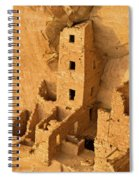 Square Tower Evening Spiral Notebook