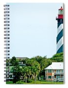 St. Augustine Lighthouse Spiral Notebook