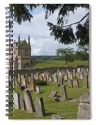 St James Church Graveyard Spiral Notebook