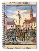 Stamp Act: Protest, 1765 Spiral Notebook