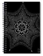 Star Fish Kaleidoscope Spiral Notebook