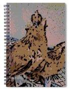 Startled Spiral Notebook
