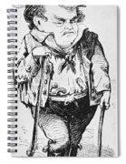 Stephen Arnold Douglas Spiral Notebook