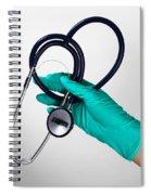 Stethoscope Spiral Notebook