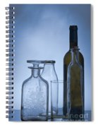 Still Life Of Bottles  Spiral Notebook